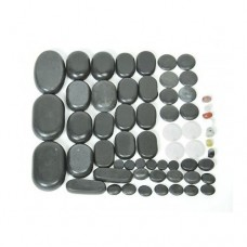 Камни для стоун терапии (базальт) - 60 шт
