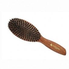 Щётка массажная овальная, большая Hairway Light Wood 9-рядная