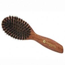 Щётка массажная овальная, малая Hairway Light Wood 7-рядная