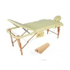 Массажный стол складной деревянный JF-AY01 3-х секционный М/К, М/К (МСТ-103Л)