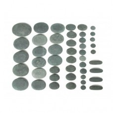 Камни для стоун терапии (базальт) - 46 шт.