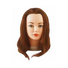 Голова-манекен Cathy шатен 15-40 см