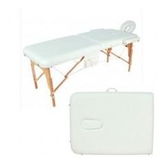 Массажный стол складной деревянный JF-AY01 две секции