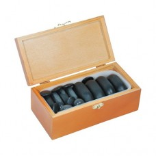 Набор базальтовых камней для массажа 20 шт