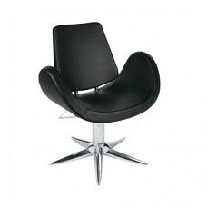 Кресло парикмахерское Alipes, гидравлика на пятилучье