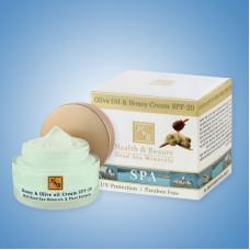 Health & Beauty  Крем с медом и оливковым маслом SPF-20 50мл