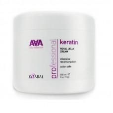 Kaaral AAA Keratin Royal Jelly Cream. Питательная крем-маска для восстановления волос 500мл