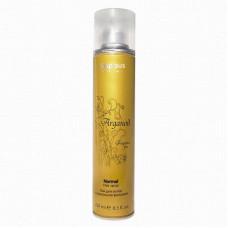 Kapous Professional Arganoil Лак аэрозольный для волос нормальной фиксации с маслом арганы 250 мл