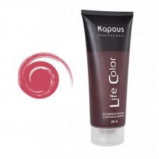 Kapous Professional Бальзам оттеночный для волос Life Color Гранатовый Красный 200 мл