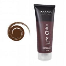 Kapous Professional Бальзам оттеночный для волос Life Color  Коричневый 200мл
