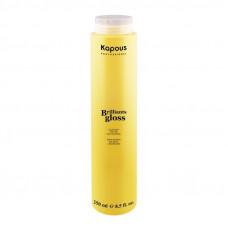 Kapous Professional Brilliants gloss Блеск-бальзам для волос 250 мл