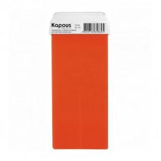Kapous Professional Гелевый воск для депиляции с ароматом Черники картридж с широким роликом 100 мл