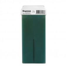 Kapous Professional Жирорастворимый воск с экстрактом Алоэ картридж с широким роликом 100 мл
