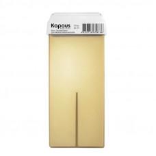 Kapous Professional Жирорастворимый воск с Оксидом цинка картридж с широким роликом 100 мл