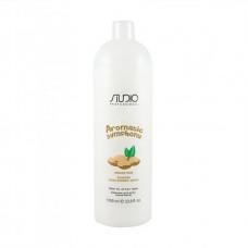 Kapous Studio Бальзам  для всех типов волос Молочко миндального ореха 1л