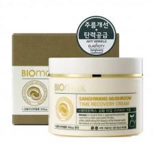 Korea Biomax Антивозрастной крем с экстрактом гриба санхван 100 мл