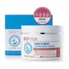 Korea Biomax Интенсивно увлажняющий крем с  экстрактом ласточкиного гнезда 100 мл