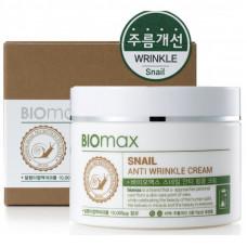 Korea Biomax Крем с экстрактом слизи улитки против морщин 100 мл