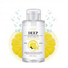 Korea Eunyul Deep Cleansing Water Lemon Extract Очищающая вода с экстрактом лимона 500 мл