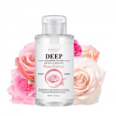 Korea Eunyul Deep Cleansing Water Rose Extract Очищающая вода с экстрактом розы 500 мл