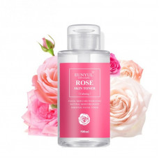 Korea Eunyul Rose Skin Toner Успокаивающий тоник с экстрактом розы  500 мл