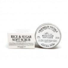 Korea Graymelin Мягкий скраб с сахаром и рисом 100 мл