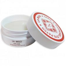 Korea La miso Гидрогелевая маска c экстрактом слизи улитки для кожи вокруг 1уп