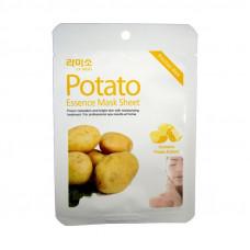 Korea La miso Маски-салфетки с экстрактом Картофеля  21 гр