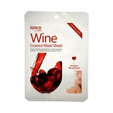 Korea La miso Маски-салфетки с экстрактом Красного вина 21 гр