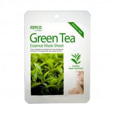 Korea La miso Маски-салфетки с экстрактом Зеленного чая 21 гр