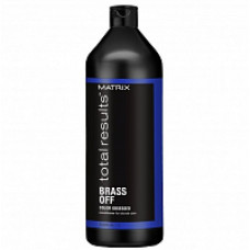 Matrix Total Results Color Obsessed Brass Off Кондиционер для волос оттенка Холодный блонд 1000 мл